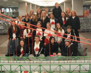 Chorus in Nova Scotia 2005