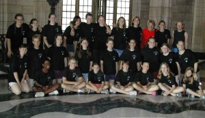 choir in rotunda